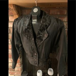 Vintage 80 s leather jacket
